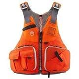 NRS Angler-Schwimmweste Raku Fishing PFD Orange, L/XL