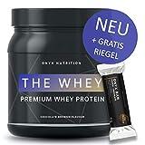 THE WHEY - Die Premium Proteinpulver Neuheit - Eiweißpulver mit Chocolate Brownie Geschmack - das...