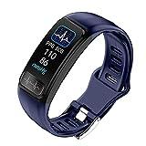 YZY Neue Fitness Armband Tracker, Fitness-Uhr mit Pulsmesser Wasserdicht IP67 Smartwatches...
