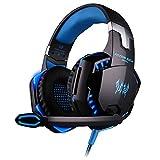 LMZ Gaming Headset, Gaming Headset mit Mikrofon, Wired Weizen Headset,...