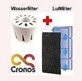 ORIGINAL CRONOS ERSATZ Wasser und Luft Filter für die Luftbefeuchter von CRONOS