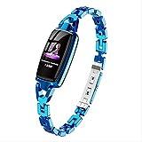 Mutont Smart Watch Frauen Herzfrequenz-Blutdruckmessgerät Wasserdicht Bluetooth Fitness Smart...