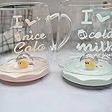 PINE Mit Griff Doppel Latte Macchiato Glas Set Trinkbecher 1 Kaffeeglas Geeignet Für Home Office...