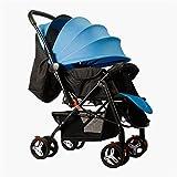 Kinderwagen von Geburt an erhältlich Kinderwagen Faltbarer Säuglingswagen mit...