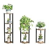 Blumenständer Home Eisenständer Bodenständer Pflanzenständer Bonsai Display Regal Winkelrahmen...