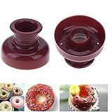 Bontand DIY Donut-Form-Kuchen-Form Desserts Cookie-Donut-Hersteller-Form Schokolade 3D Handgemachte...