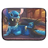 GDHGD Cartoon Stitch So trainieren Sie Ihren Drachen Zahnlos Laptop-rmeltasche...