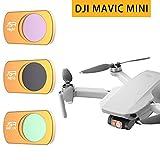 Geeignet für DJI Mavic Mini Drohne Filter Zubehör UV polarisierte ND Reduzierlinse...