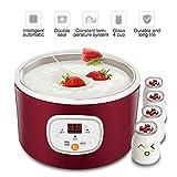 KOUQI Joghurt-Hersteller-Maschine, Automatische Digital-Joghurt-Hersteller-Maschine, Intelligente...