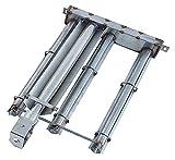 Stabbrenner L: 450 mm B: 280 mm 3-reihig für Lavasteingrill von Olis