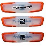 POWERTI Tennis-Vibrationsdämpfer-Set mit 3 Stoßdämpfern für Tennissaiten, hochwertig, langlebig
