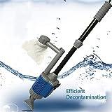 MC.PIG Upgraded Electric Gravel Cleaner Fish Tank-Aquarium Filter Niederspannung und Hochleistung...