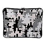 DKISEE HX200204FOL002 Schutzhülle für MacBook Air/MacBook Pro, Neopren, 2-Wege-Reißverschlüsse...