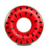 BRAVOSOLEIL Aufblasbare Wassermelone aufblasbares Wassermelone Erwachsene aufblasbare Schwimm...