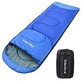 Sotical Schlafsack, Deckenschlafsack 1.0 kg Leichtgewicht Warm Outdoor 100% Baumwollhohlfaser für...