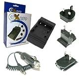 Ex-Pro Digitalkamera Schnell-Ladegerat / Charger / Doppelladegerat fur Ricoh Caplio for R4, R5, R30