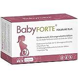 BabyFORTE Folsäure Plus - Vegan - Vitamine Kinderwunsch & Schwangerschaft - 17 hochdosierte...