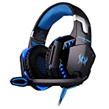 MXECO VersionTECH G2000 Gaming-Headset Surround-Stereo-Gaming-Kopfhörer mit Noise...