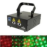 Bühnenbeleuchtung Bühnenbeleuchtung 2-Farb-Multifunktions Disco DJ Verein-Stadiums-Licht mit Sound...
