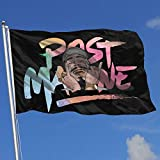 BSYHGLE TSEGF Post Malone Holiday Hofflagge Banner Home Dekoration Garten Flagge Indoor Outdoor...