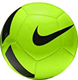 Nike Unisex– Erwachsene Pitch Team Fußball, Electric Green/Black, 4