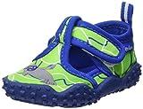 Playshoes Unisex-Kinder Badeschuhe mit UV-Schutz Robbe Aqua Schuhe, Grün (Blau/Grün 791), 26/27 EU