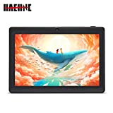 Haehne 7 Zoll Tablet PC, Google Android 4.4, Quad Core A33 8GB ROM, Zwei Kameras, Bluetooth, WiFi,...