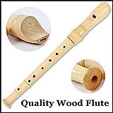 No logo Kppto 8 Loch-hlzerne Sopran-Blockflte Holzblser Musikinstrumente Schalmei Flauta Grabadora...