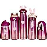 HomeyStyle Mini-Wasserflasche für Kinder und Erwachsene, Vakuum-auslaufsicher, isolierte Flasche,...