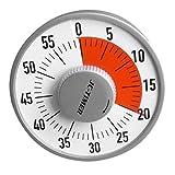F Fityle Ruhige 60 Minütige Visuelle Analoge Timer Klassenzimmersitzung Mit Runder Countdown Uhr