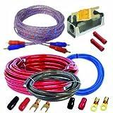 CAR HIFI Verstrker Endstufe Kabel Anschlusskabel KOMPLETTSATZ 10 qmm mit Cinch Kabel  ARLWK10Kit