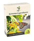 mgc24 Schmetterlingstreffpunkt - Blumenmischung fr Schmetterlinge ein- & mehrjhrig 100g fr 100m