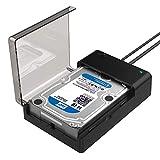 Sabrent Dockingstation - USB 3.0 zu SATA Externe Festplatte. Lay-Flat-Dockingstation für 2,5 oder...