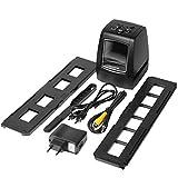 Digitaler Scanner mit hoher Auflösung, konvertiert Negative USB, Diapositiven, Fotoscanner,...