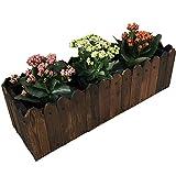 chishizhenxiang Blumenständer Blumenregale Blumenregal Blumentopf Ständer Zaun Balkon Pflanzkasten...