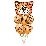 Unbekannt Balloon 7 PC/Los Tiger Zebra Kuh Tier Air Helium-Latexballon for...