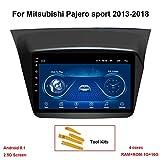 KEYI Autoradio Auto GPS Navigation Fahrzeug Android 8.1 für Mitsubishi Pajero Sport 2013-2018 9...