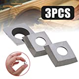 NO LOGO LT-Tool, 3pcs 11 * 11 * 2mm Platz Carbide Insert 2' Radius 30 Grad Klingen Durable Cutter...