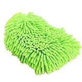 xianshi fehlerfreie Mikrofaser-Waschhandschuh, kratzfrei, Wischhandschuhe, doppelseitige...