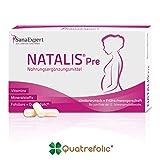 SanaExpert Natalis Pre, Nahrungsergänzung bei Kinderwunsch und Frühschwangerschaft mit 800 µg...