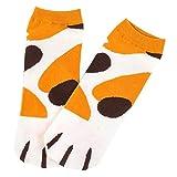 MX Winter-Karikatur-Katzen-Greifer-Muster-Frauen-Söckchen-starke warme Schlafenboden-Socken