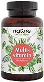 Multivitamin Forte 180 Tabletten - Alle wertvollen A-Z Vitamine und Mineralien - Hoch...