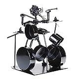 SUPVOX Metall Drum Set Drum Modell Dekoratives Drum Set für Drum Set Modelle im Klassenzimmer