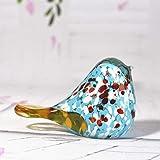 COCECOCE Gartenfiguren Glasskulptur Kleine Ornamente Kreative Glas Desktop Ornamente Geschenk Glas...