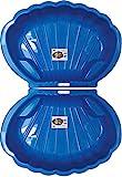 2-er Sandkasten Sandmuschel Muschel Wasser Planschbecken gro 108x79cm XL, 5 Farben! (Blau)