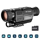 Infrarot Nachtsichtgerät Monokulare 8x40 HD Digitalkamera mit Video-Wiedergabe USB-Ausgang Funktion...