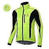 OUTON Winddichte Fahrradjacke Männer Radsport-Jacken für Herren MTB Mountainbike Jacket Visible...