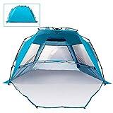 NLDM Outdoor-Camping 2 Personen Wasserdicht, Tragbare Automatische Zelt, Strand Beschattung Tür Mit...