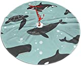 N/A Paddington Bär Weihnachtsbaumrock Marine Tiere Matte Weihnachten Urlaub Party Dekoration 76,2...