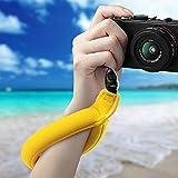 XQxiqi689sy Schwimmendes Armband für Canon-Nikon-Unterwasserkamera Einheitsgröße gelb